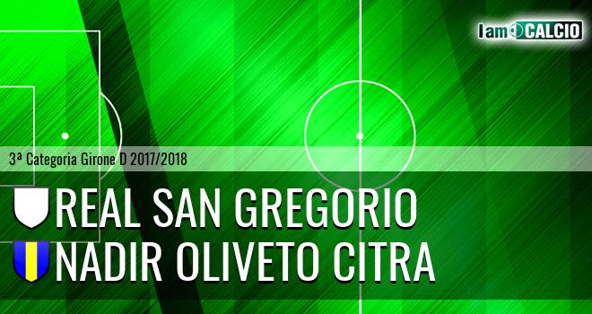 Real San Gregorio - Nadir Oliveto Citra