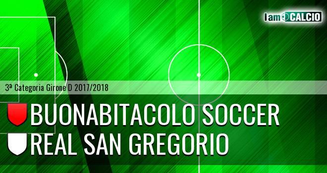 Buonabitacolo Soccer - Real San Gregorio