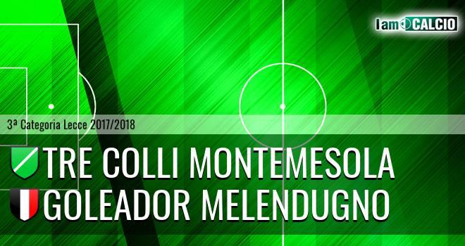 Tre Colli Montemesola - Goleador Melendugno