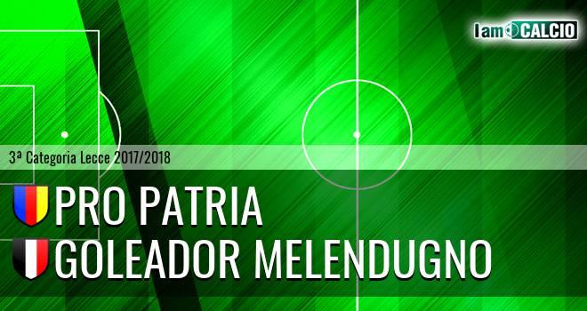 Pro Patria - Goleador Melendugno