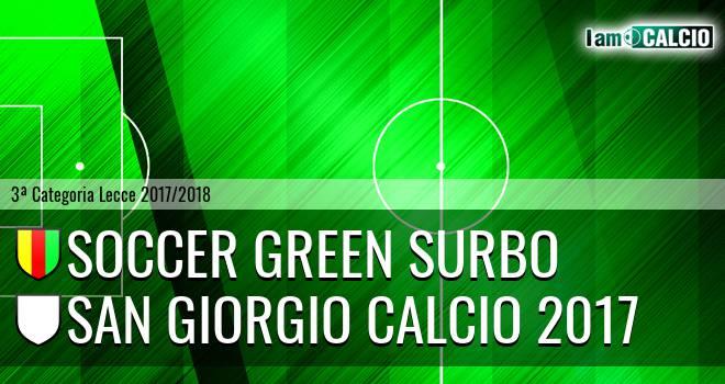 Soccer Green Surbo - San Giorgio Calcio 2017