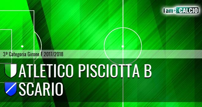 Atletico Pisciotta B - Scario