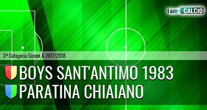 Boys Sant'Antimo 1983 - Paratina Chiaiano