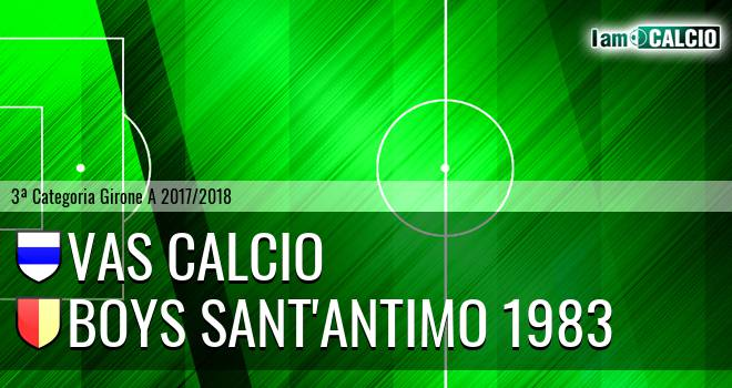 VAS Calcio - Boys Sant'Antimo 1983