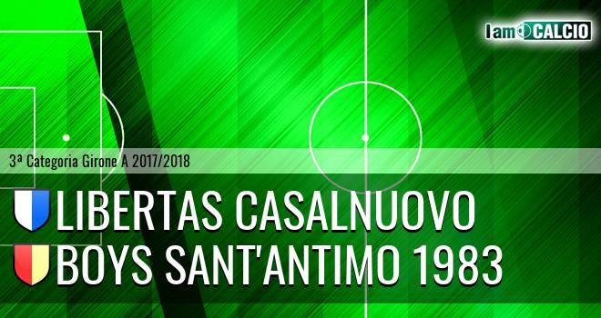 Libertas Casalnuovo - Boys Sant'Antimo 1983