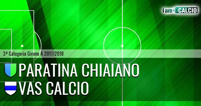 Paratina Chiaiano - VAS Calcio