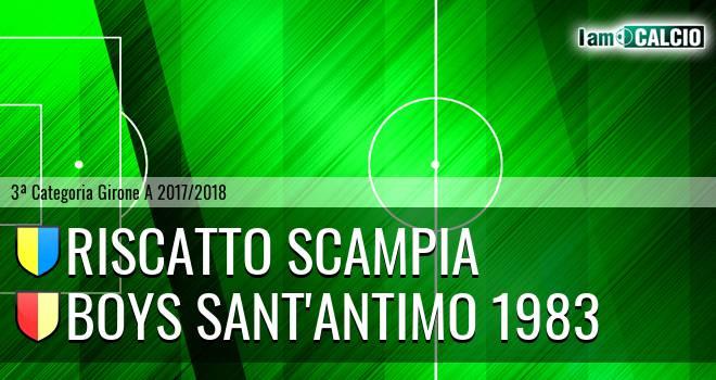 Riscatto Scampia - Boys Sant'Antimo 1983
