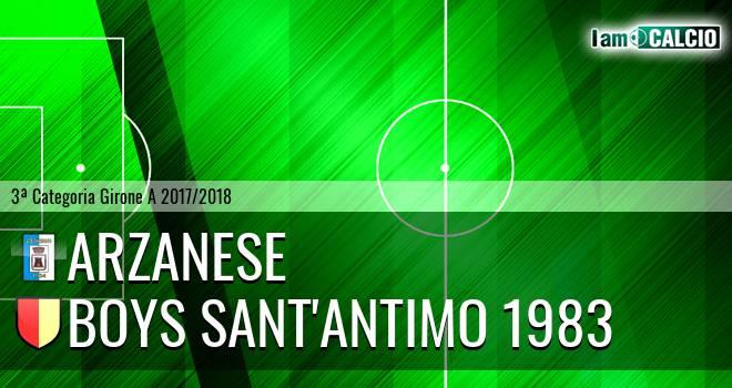 Arzanese 1924 - Boys Sant'Antimo 1983