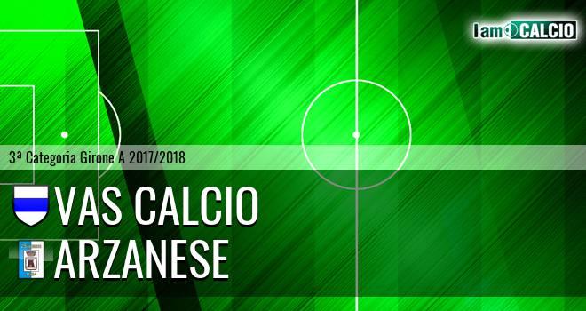 VAS Calcio - Arzanese 1924