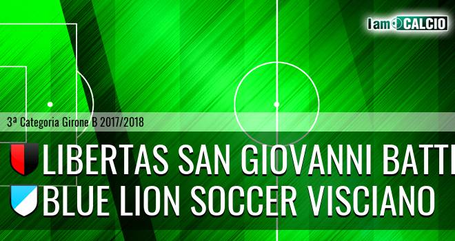 Libertas San Giovanni Battista - Blue Lion Soccer Visciano