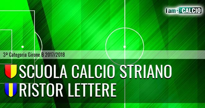 Scuola Calcio Striano - Ristor Lettere