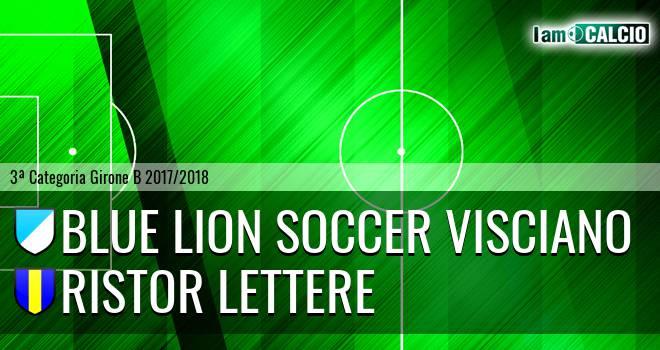 Blue Lion Soccer Visciano - Ristor Lettere