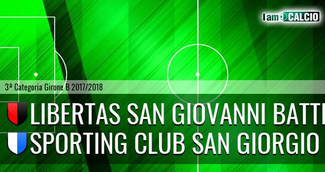 S.S. San Giovanni Battista - Sporting Club San Giorgio