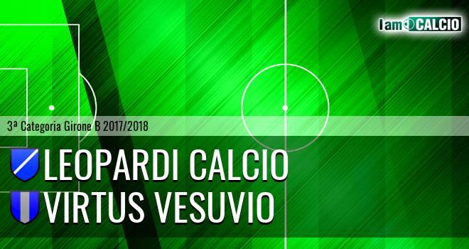 Leopardi Calcio - Virtus Vesuvio