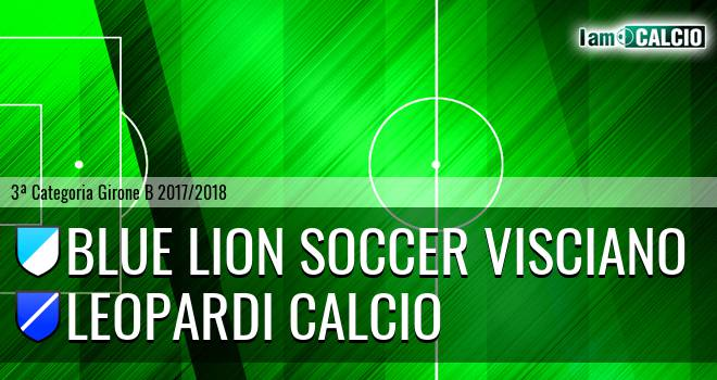 Blue Lion Soccer Visciano - Leopardi Calcio