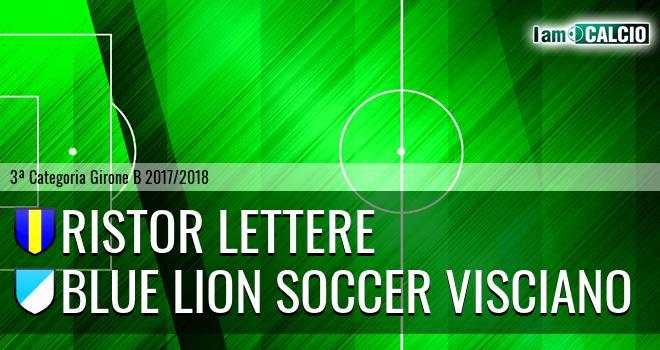 Ristor Lettere - Blue Lion Soccer Visciano