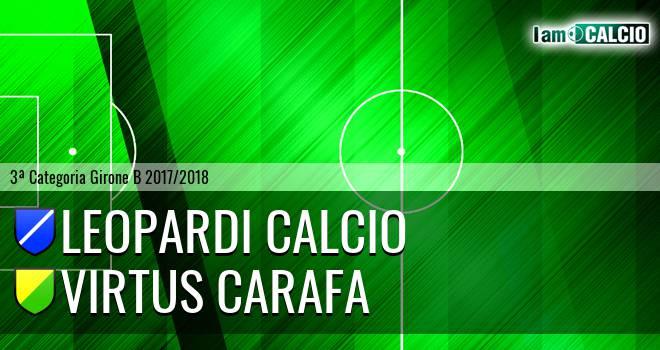 Leopardi Calcio - Virtus Carafa