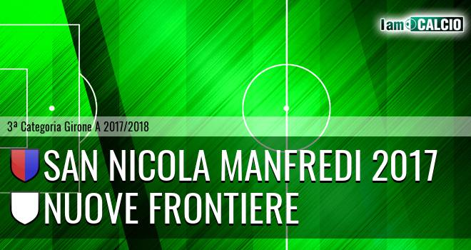 Real San Nicola Manfredi - Nuove Frontiere