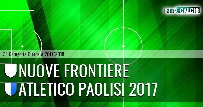 Nuove Frontiere - Atletico Paolisi 2017