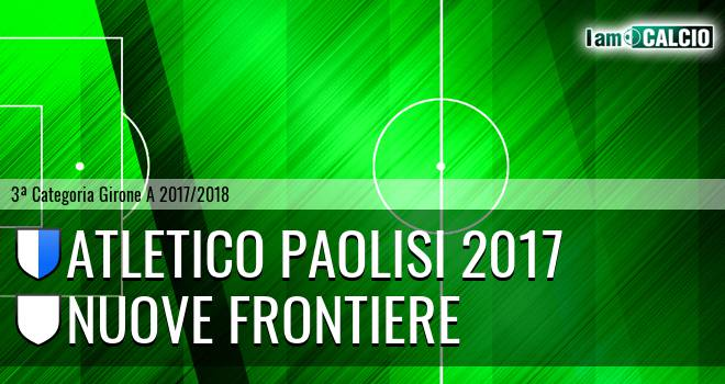 Atletico Paolisi 2017 - Nuove Frontiere