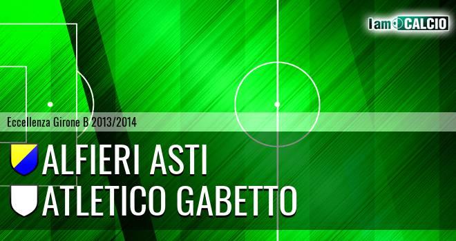 Alfieri Asti - Atletico Gabetto