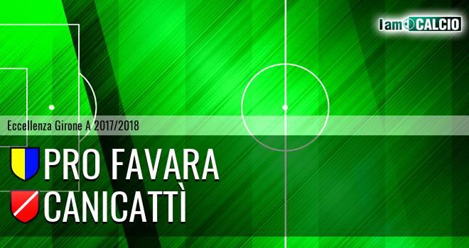 Pro Favara - Canicattì