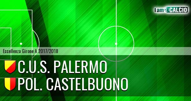 C.U.S. Palermo - Pol. Castelbuono