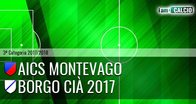 Aics Montevago - Borgo Cià 2017