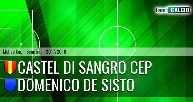 Castel di Sangro CEP 1953 - Domenico De Sisto