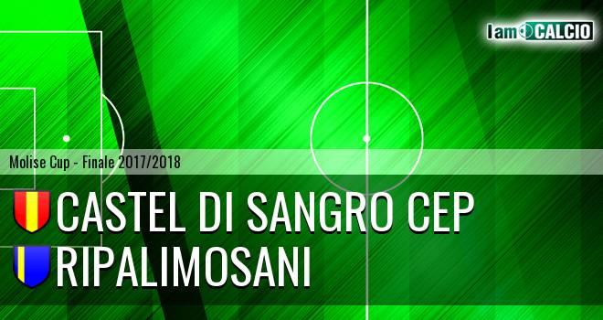 Castel di Sangro CEP - Ripalimosani 1-3. Cronaca Diretta 10/06/2018