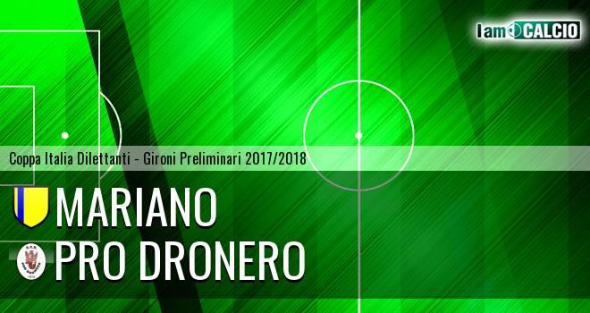 Mariano - Pro Dronero
