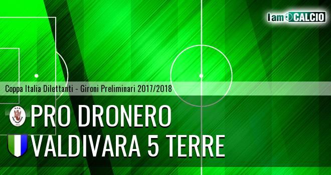 Pro Dronero - Valdivara 5 Terre 1-3. Cronaca Diretta 07/03/2018