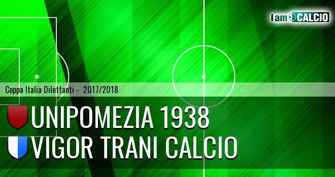 Unipomezia 1938 - Vigor Trani Calcio