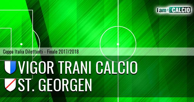 Vigor Trani Calcio - St. Georgen 0-2. Cronaca Diretta 02/05/2018
