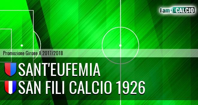 Sant'Eufemia - San Fili Calcio 1926