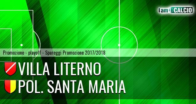 Villa Literno - Pol. Santa Maria 2-3. Cronaca Diretta 13/05/2018