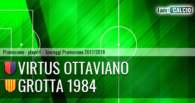 Virtus Ottaviano - Grotta 1984 2-2. Cronaca Diretta 13/05/2018