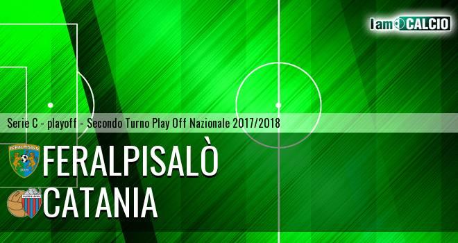 Feralpisalò - Catania 1-1. Cronaca Diretta 30/05/2018