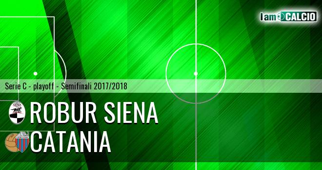 Robur Siena - Catania 1-0. Cronaca Diretta 06/06/2018