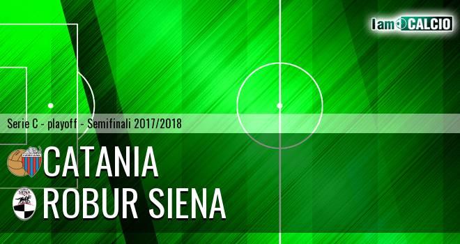 Catania - Robur Siena 2-1. Cronaca Diretta 10/06/2018
