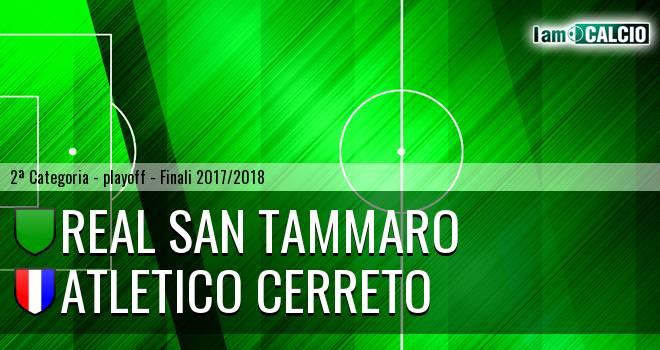 Real San Tammaro - Atletico Cerreto