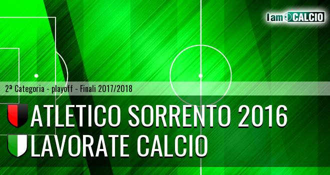 Atletico Sorrento 2016 - Lavorate Calcio