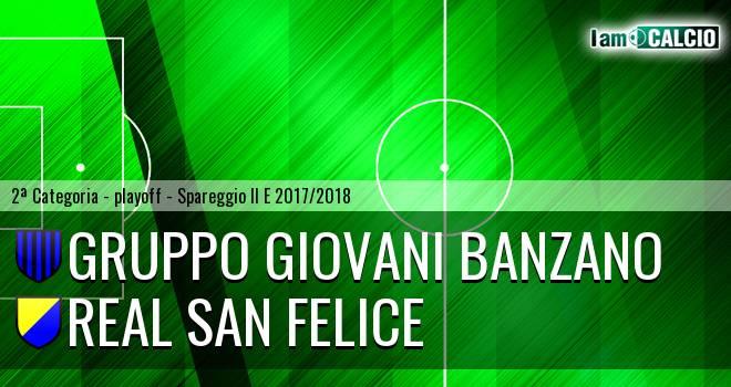Banzano Montoro - Real San Felice