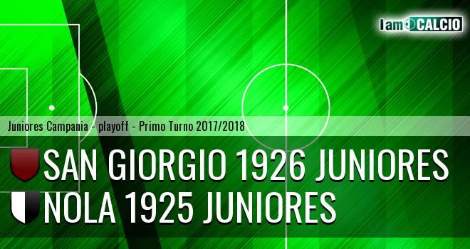 San Giorgio 1926 Juniores - Nola 1925 Juniores