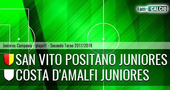 San Vito Positano Juniores - Costa d'Amalfi Juniores