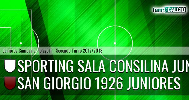 Sporting Sala Consilina Juniores - San Giorgio 1926 Juniores 0-3. Cronaca Diretta 12/04/2018