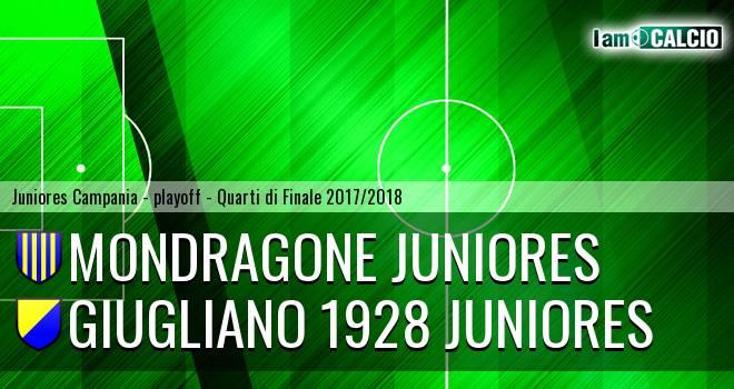 Mondragone Juniores - Giugliano 1928 Juniores 2-1. Cronaca Diretta 19/04/2018