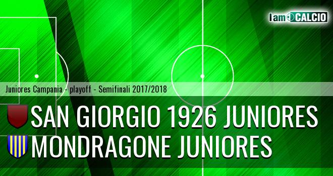 San Giorgio 1926 Juniores - Mondragone Juniores