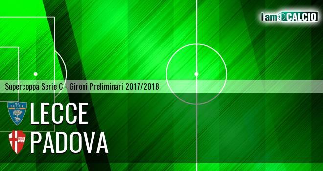 Lecce - Padova 0-1. Cronaca Diretta 26/05/2018