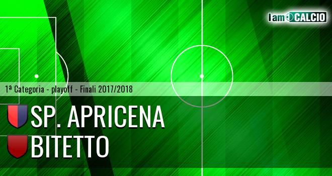 Sporting Apricena - Bitetto